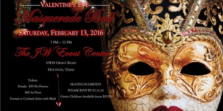 Masquerade Ball - Houston 2016